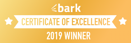 Bark Certificate of Excellence Award 2019