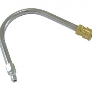 Gutter Cleaning U-Bend Attachment Quick Release