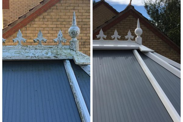 Before and After Conservatory Roof